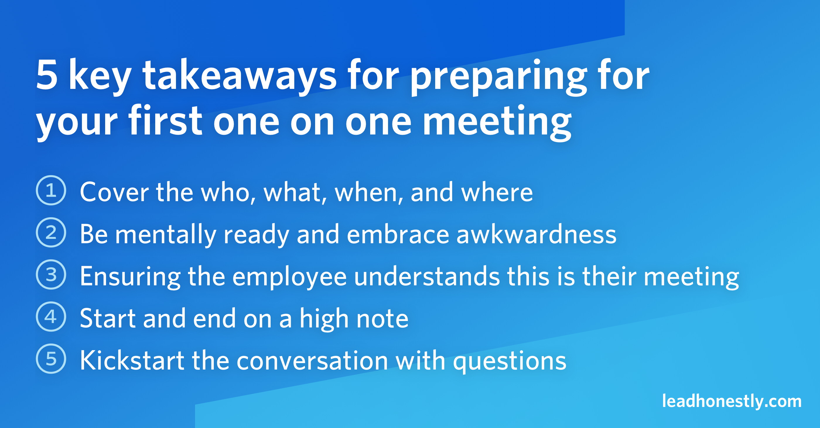 5 key takeaways for preparing for 