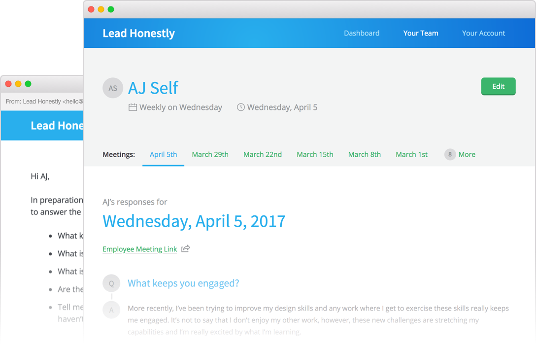 Lead honestly assistant